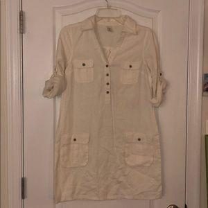 Old Navy Linen Tunic Dress